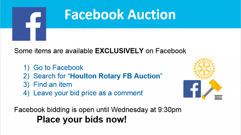 auction - facebook